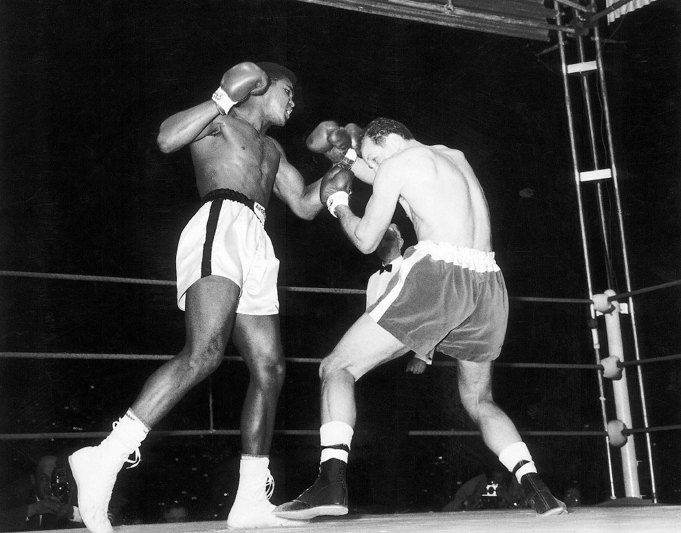 Бой против британца Генри Купера, 1963 год
