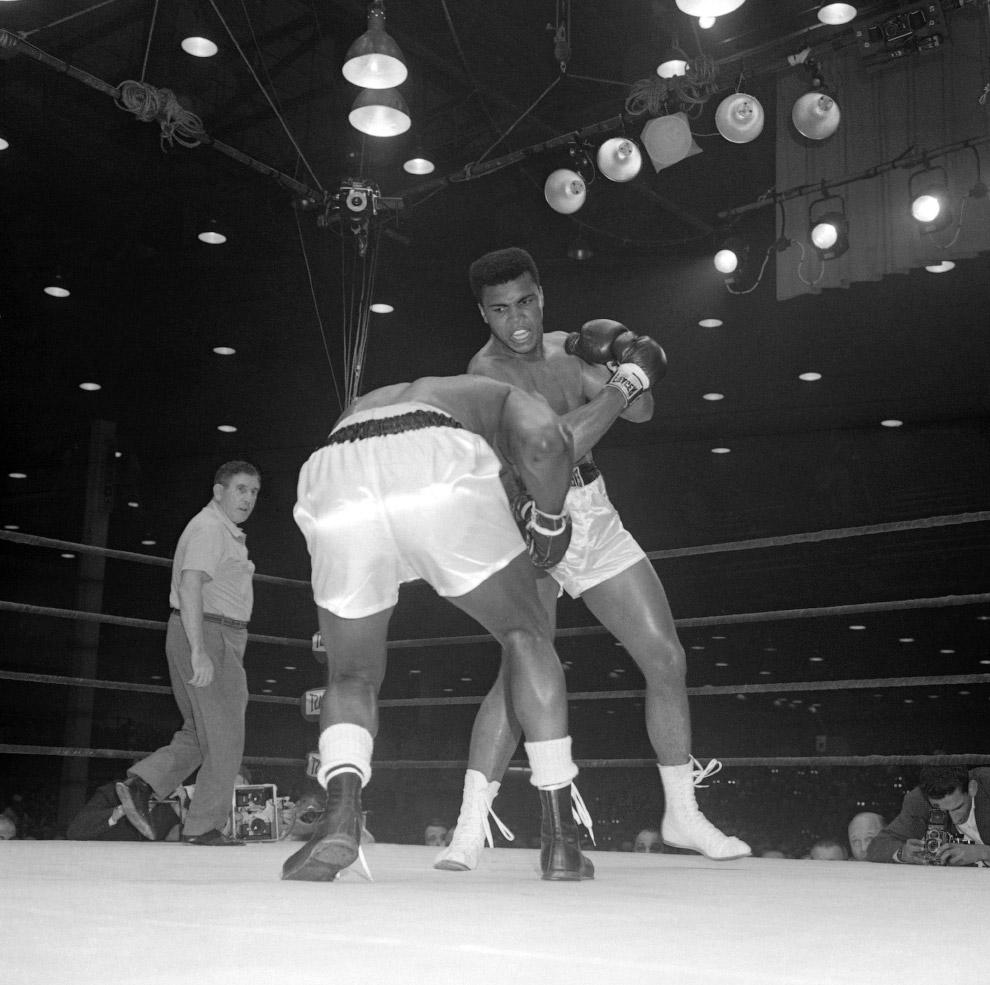 Два боя Мохаммеда Али против Сонни Листона