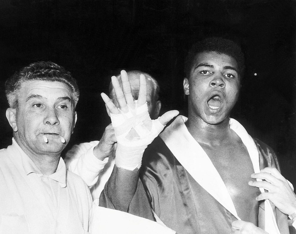 Мохаммед Али предсказывает себе победу