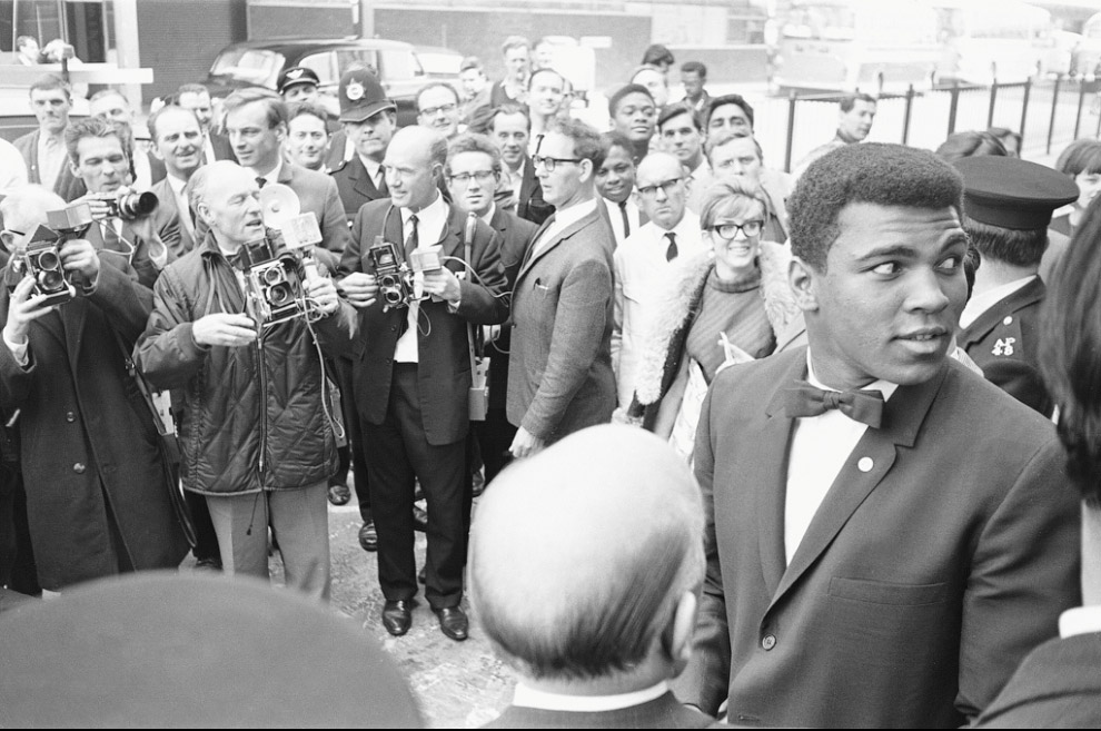 Мохаммед Али в Лондоне