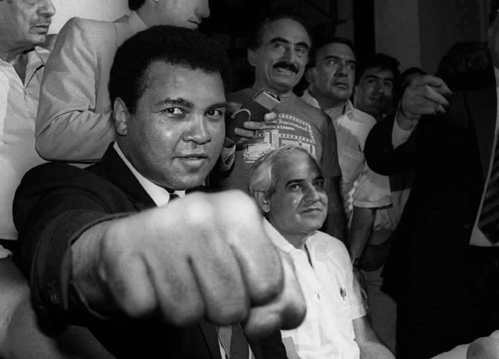 Мохаммед Али в Мехико