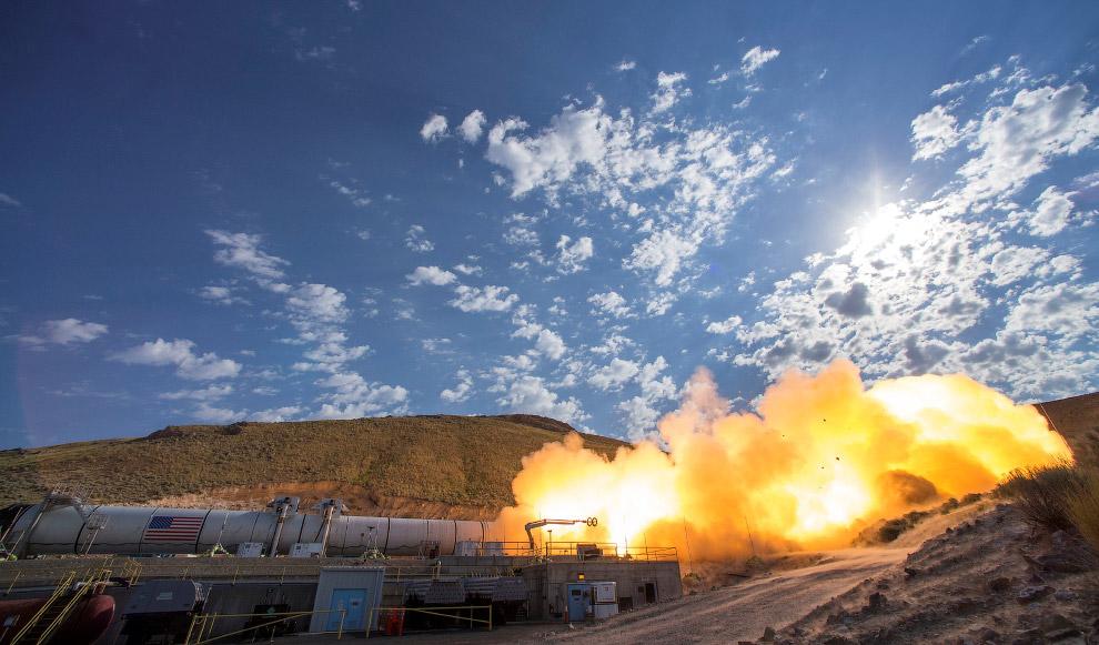 Испытание ускорителя QM-2