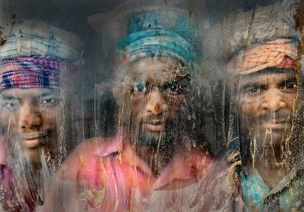 Рабочие гравийного производства, Бангладеш