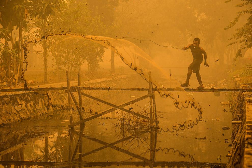 Токсичная рыбалка в Индонезии
