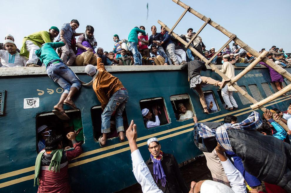 Пассажирские перевозки по-бангладешски