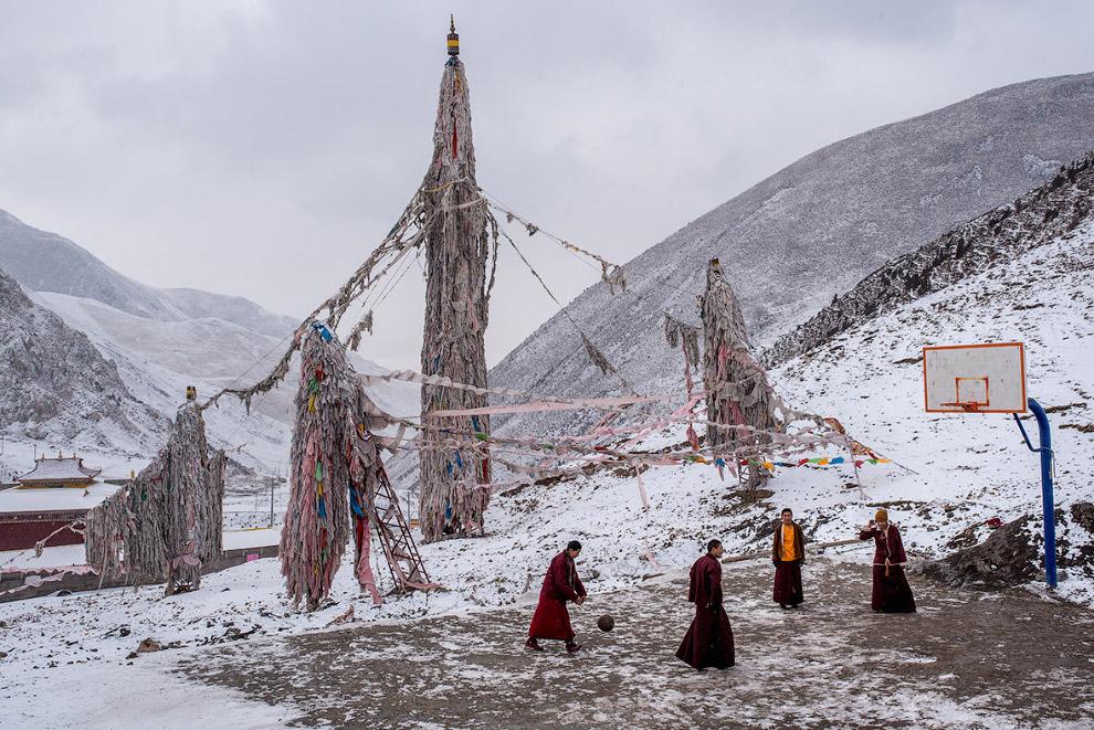 Баскетбол в Тибете