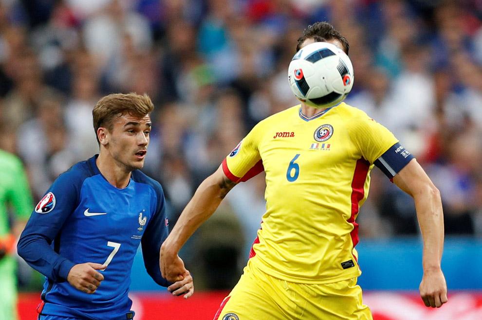Матч Румыния — Франция