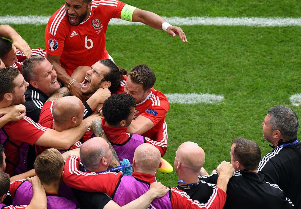 Команда Уэльса забила гол Словакии