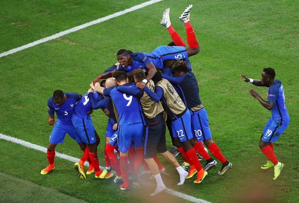 Французы забили Албании
