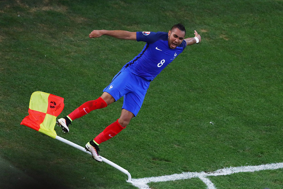 Французы забили второй гол Албании