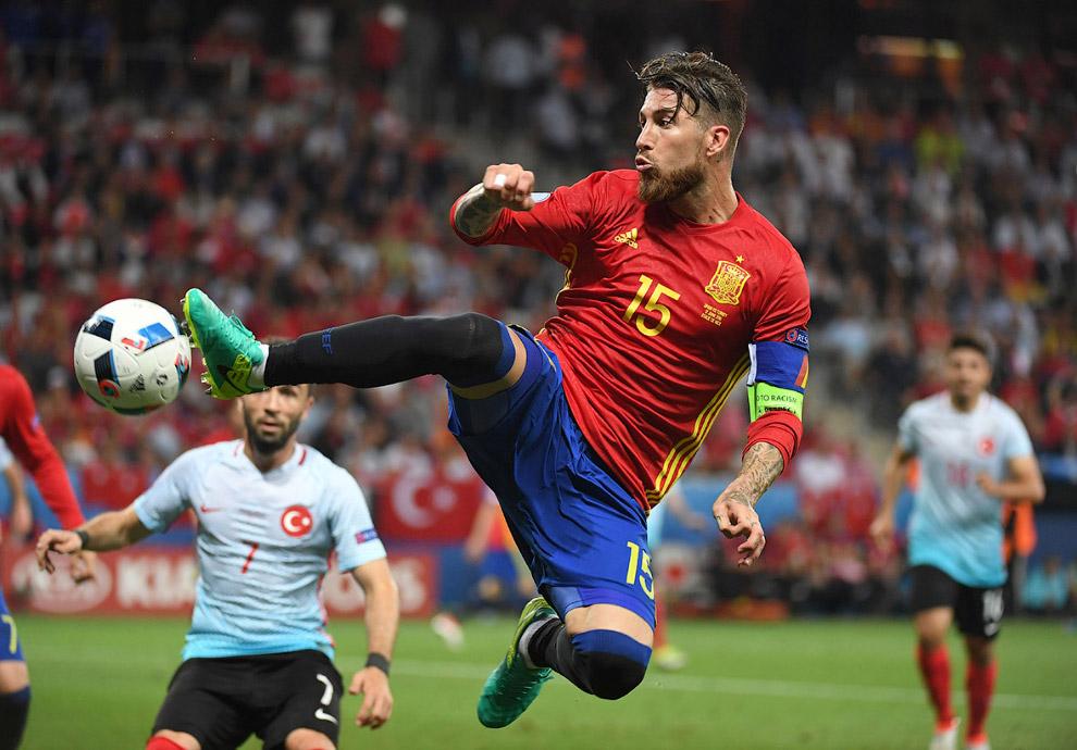 Матч Испания-Турция