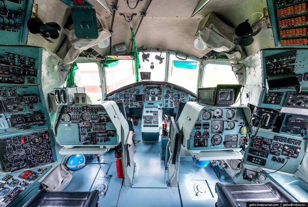 Кабина Ми-26Т