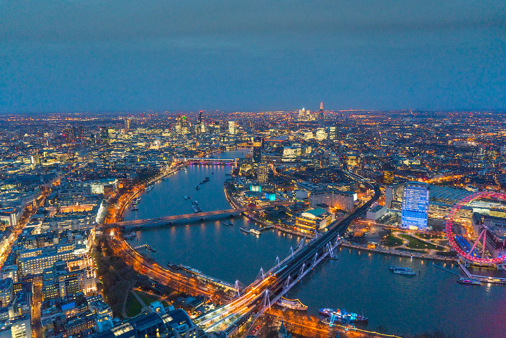 Вид на Темзу