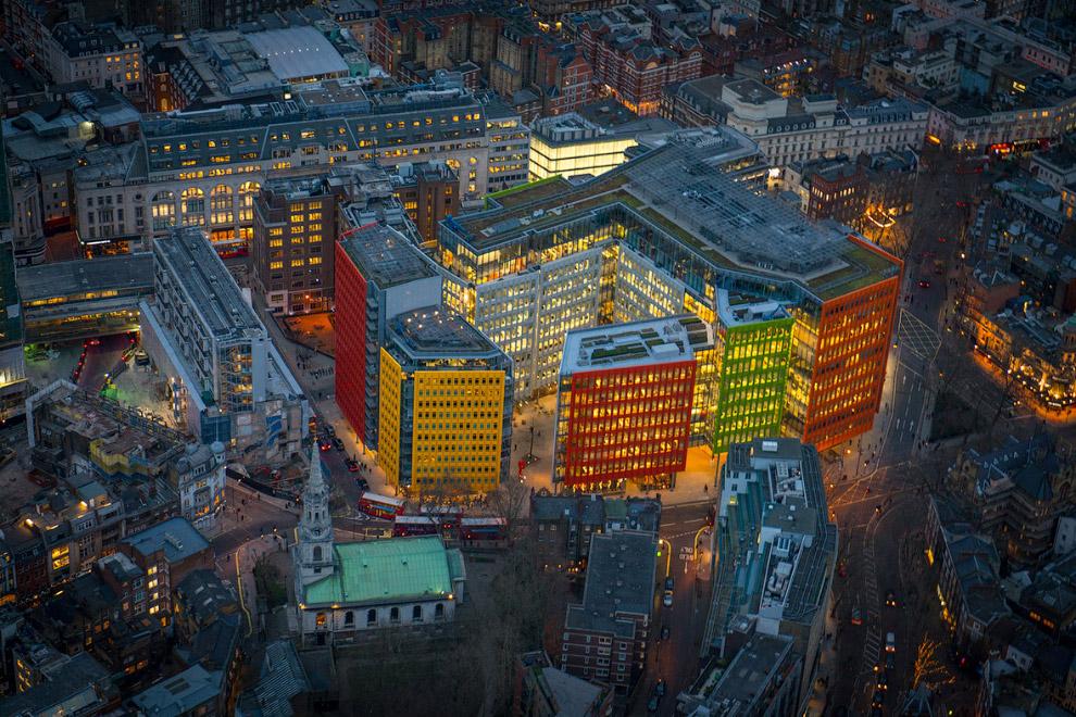 Офисно-жилой комплекс Central St Giles в Лондоне
