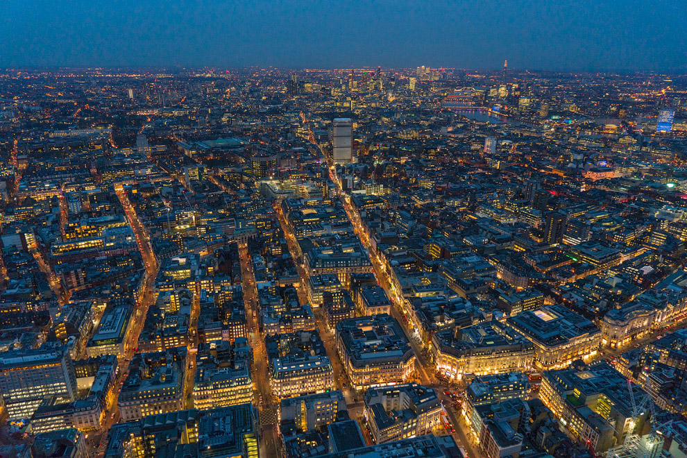 Лондонская улица Оксфорд-стрит