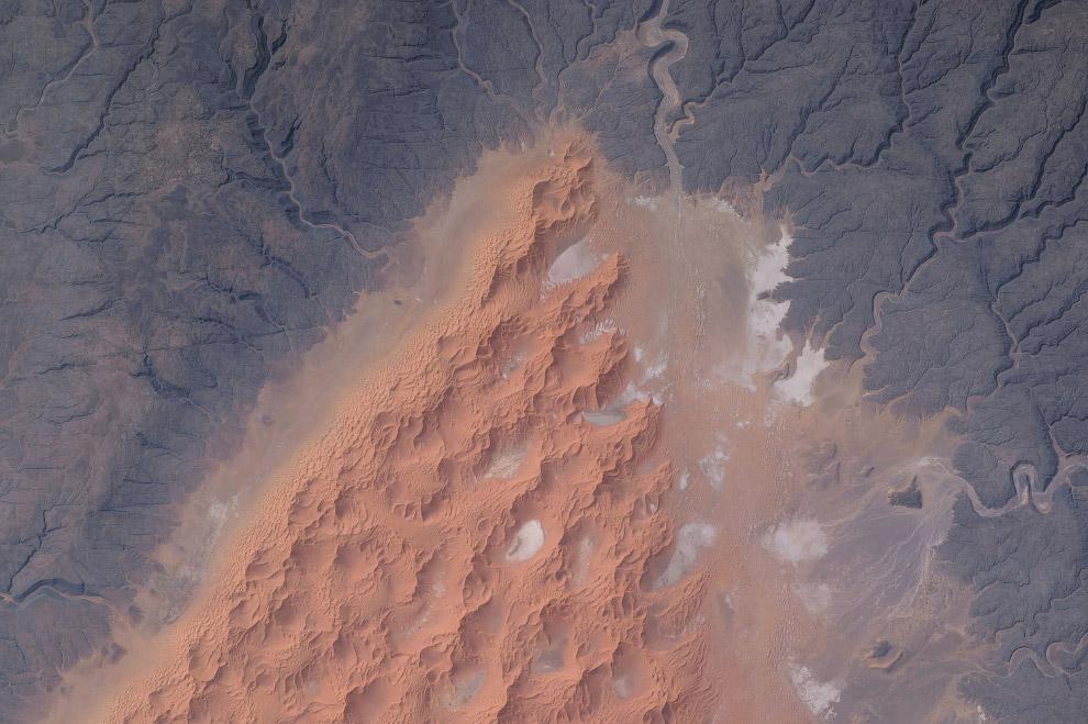 Дюны в центральном Алжире