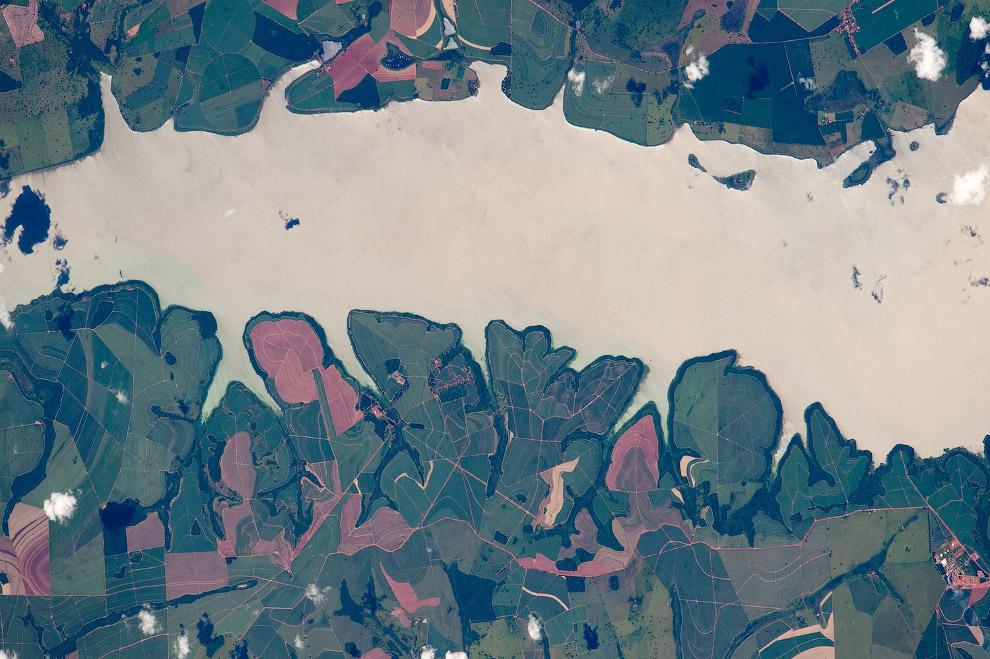 Бразильский озеро
