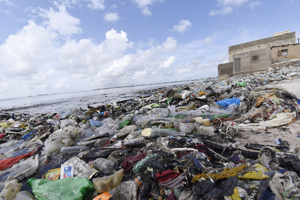 Пляж в Сенегале