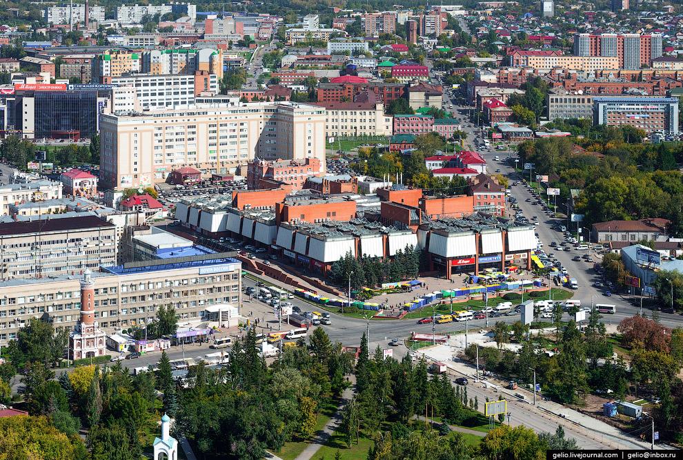 Торговый центр «Омский».
