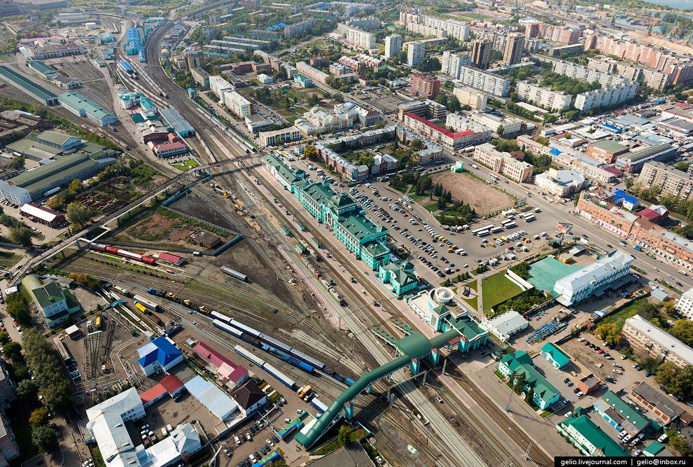 Железнодорожный вокзал «Омск-Пассажирский»