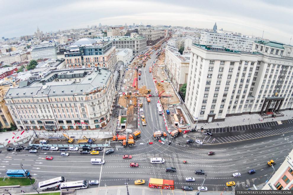 Реконструкция Тверской и липовая аллея