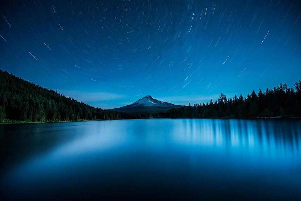 Звездные треки, штат Орегон, США