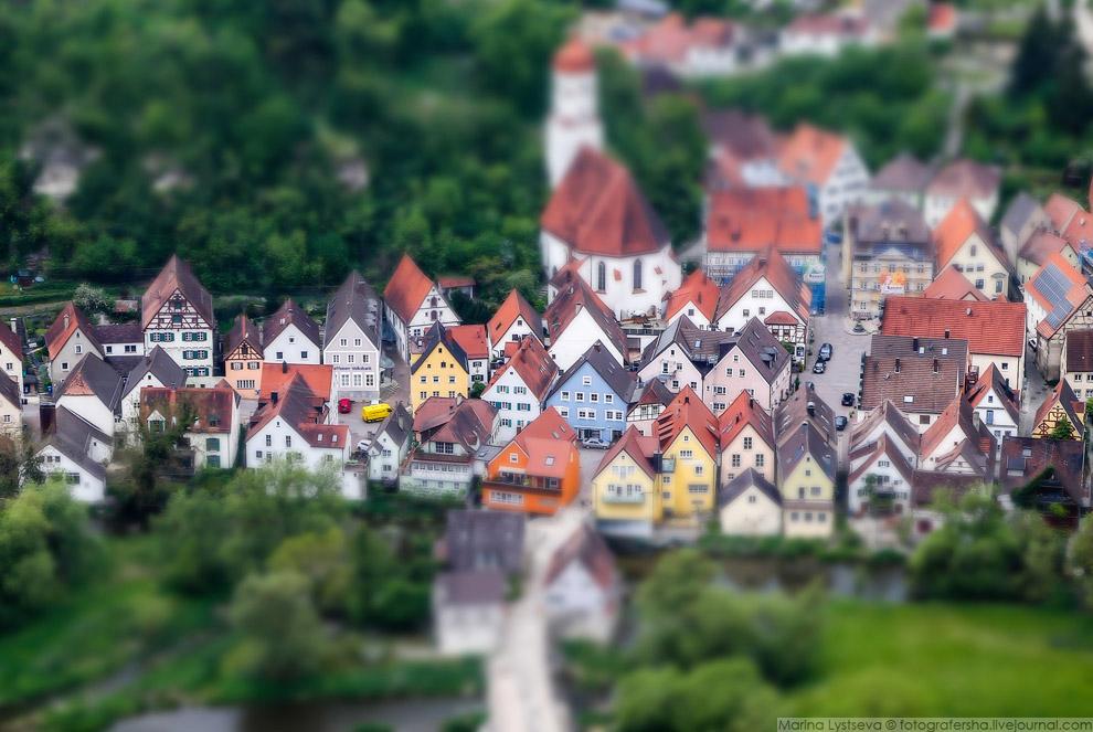 Средневековый городок Харбург