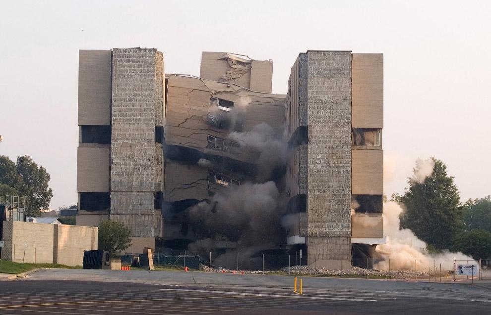 Контролируемый взрыв в Арканзасе