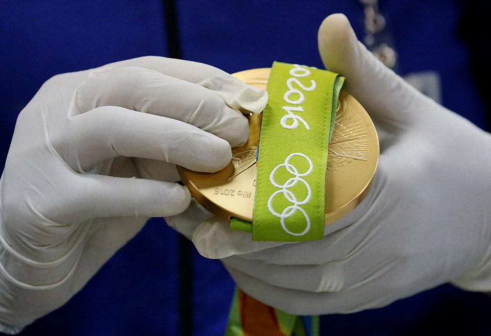 Медали для Олимпиады в Рио