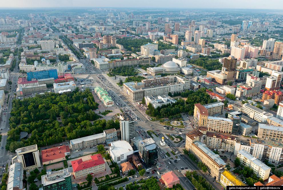 Первомайский сквер и сквер Героев революции.