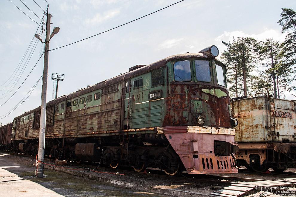 Магистральный грузовой тепловоз ТЭ-3