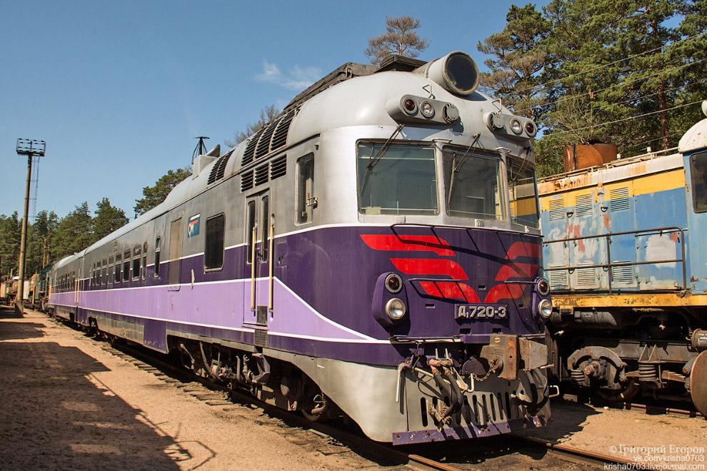 Дизель-поезд Д1-720