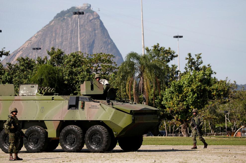 Вежливые люди в Рио