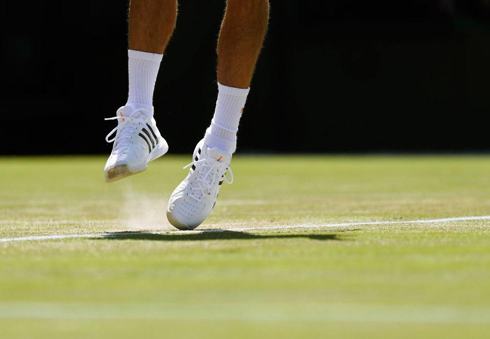 Сильнейший теннисист планеты серб Новак Джокович