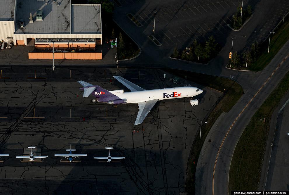 Boeing-727 американской почтово-курьерской компании FedEx.