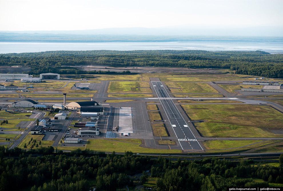 Военная авиабаза Элмендорф (Elmendorf Air Force Base)