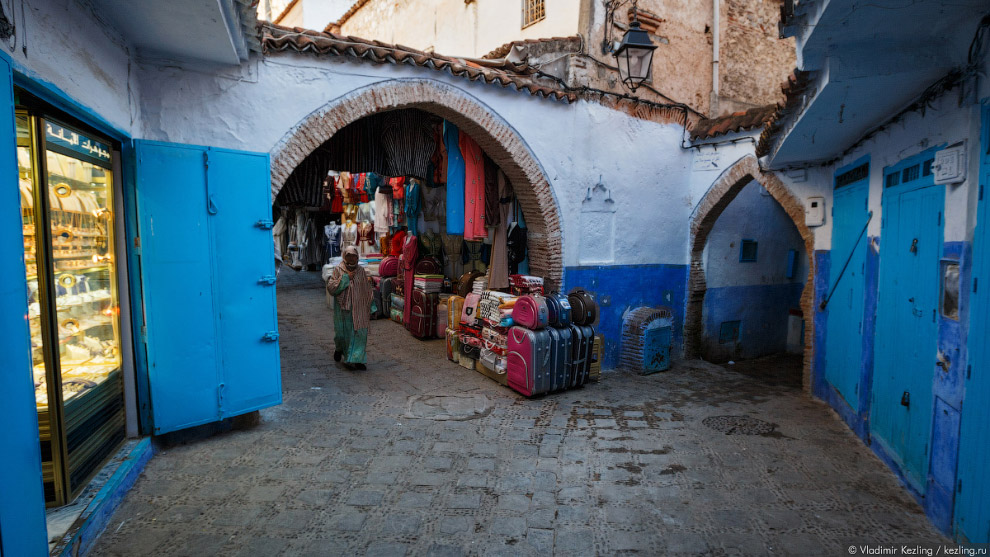 03s Марокканские сказки. 50 оттенков синего