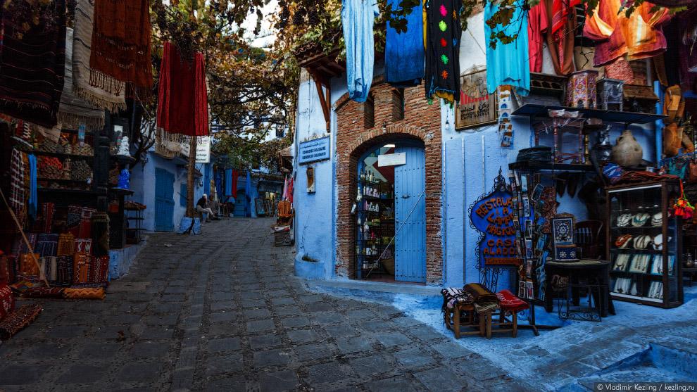 04s Марокканские сказки. 50 оттенков синего