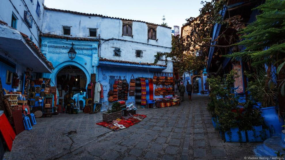 05s Марокканские сказки. 50 оттенков синего