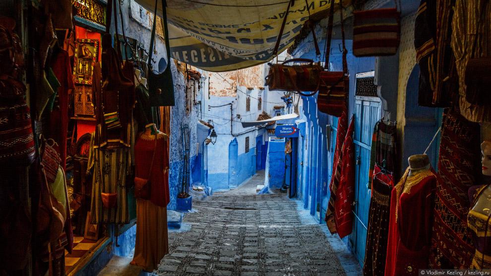06s Марокканские сказки. 50 оттенков синего