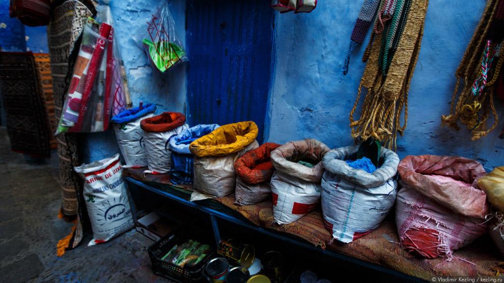 07s Марокканские сказки. 50 оттенков синего