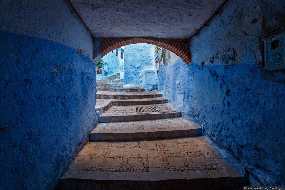 08s Марокканские сказки. 50 оттенков синего