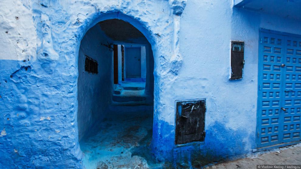 10s Марокканские сказки. 50 оттенков синего