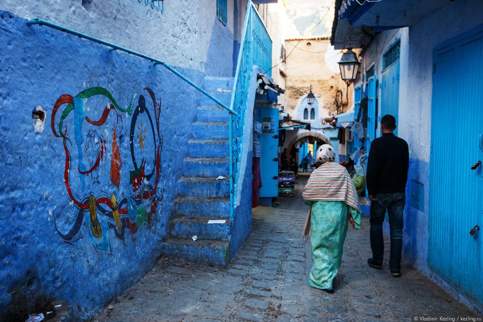 11s Марокканские сказки. 50 оттенков синего