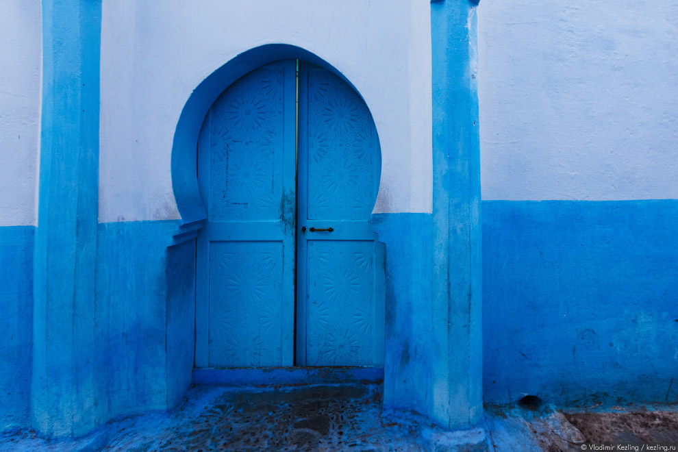 12s Марокканские сказки. 50 оттенков синего