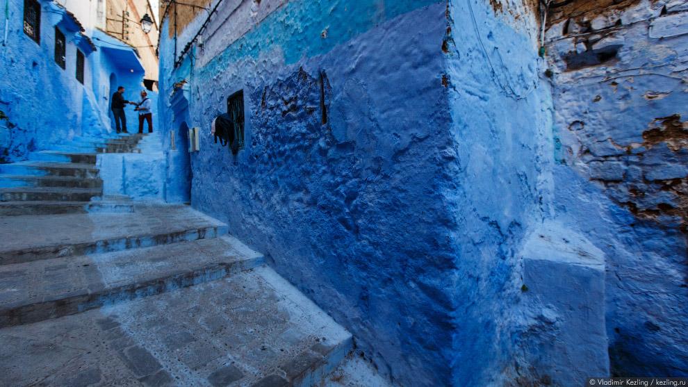 13s Марокканские сказки. 50 оттенков синего