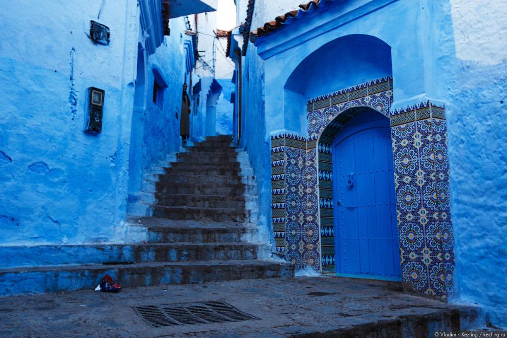 15s Марокканские сказки. 50 оттенков синего
