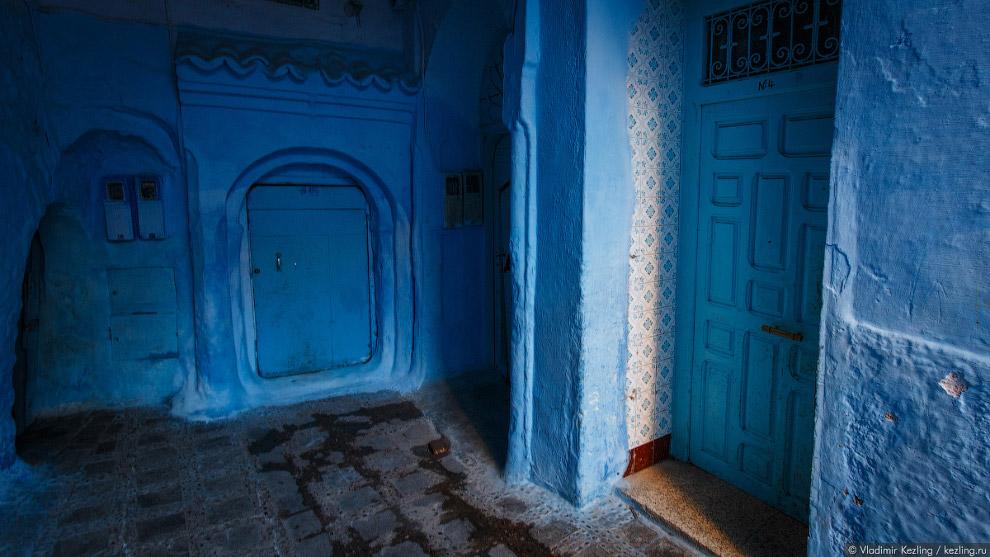 16s Марокканские сказки. 50 оттенков синего