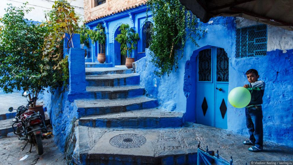 17s Марокканские сказки. 50 оттенков синего