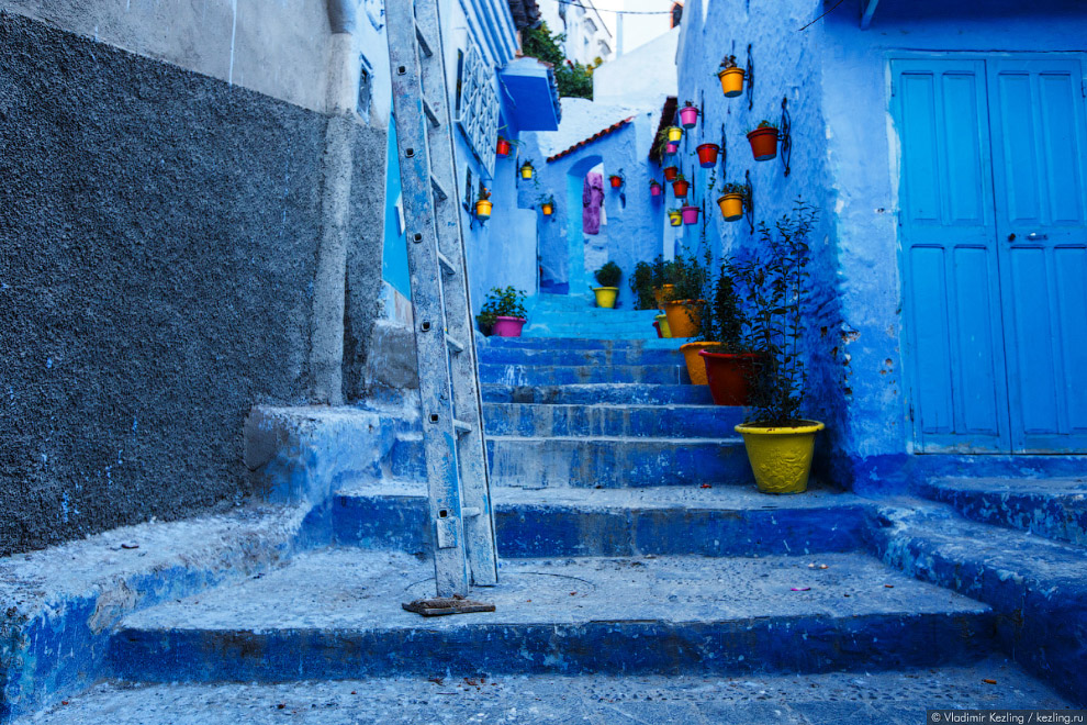 18s Марокканские сказки. 50 оттенков синего